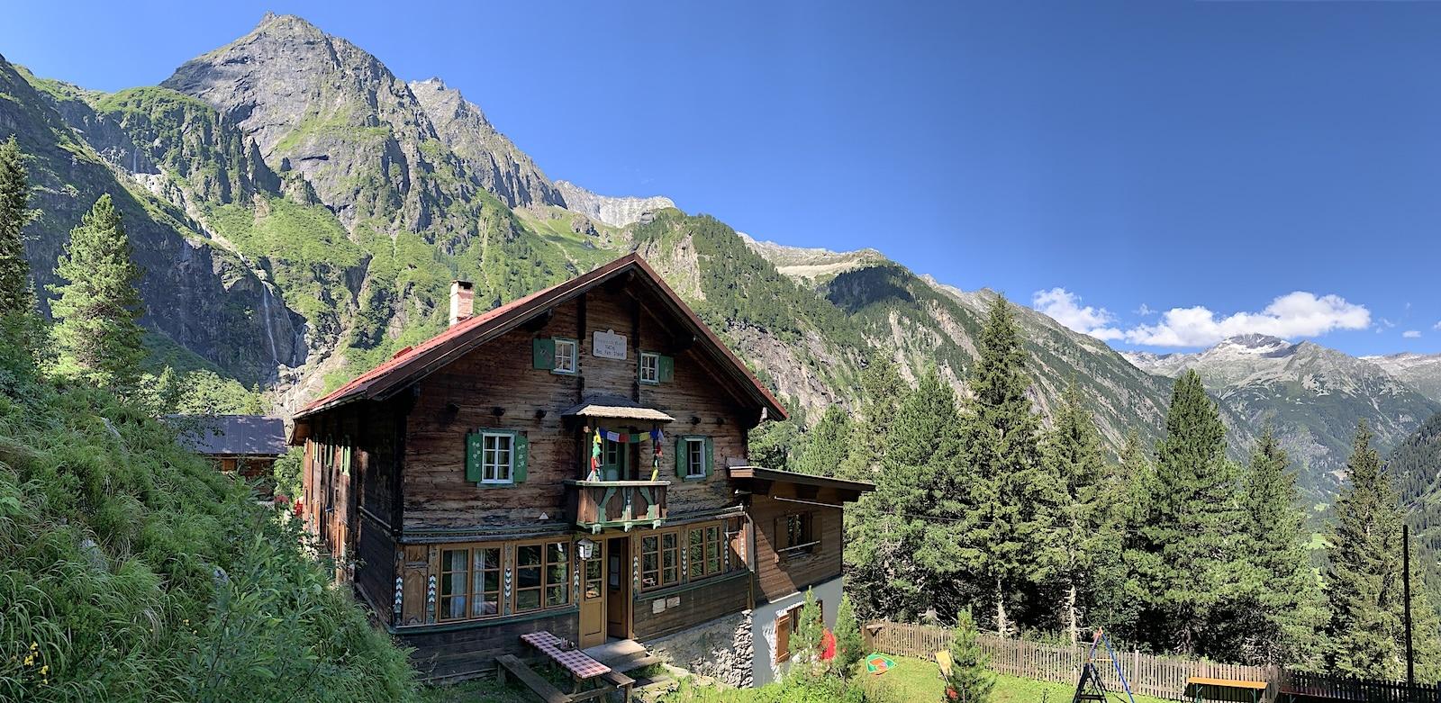Grawandhütte Zillertal Panorama