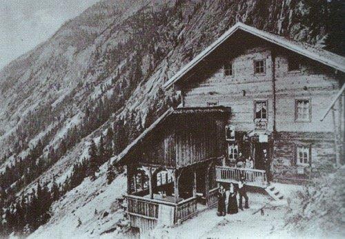 Familie Klara Wegscheider im Jahre 1904