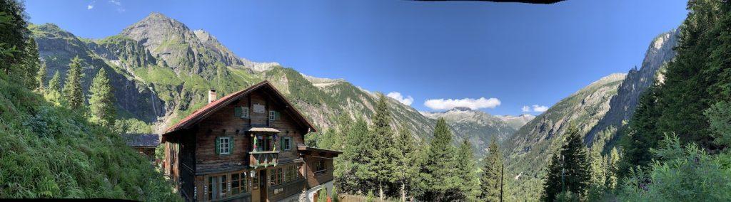 Grawandhütte Berg Panorama