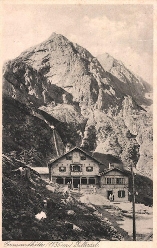 Grawandhütte Geschichte