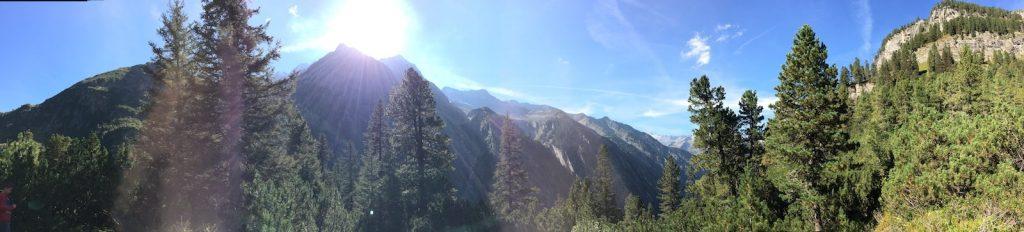 Grawandhütte Panorama Wandern