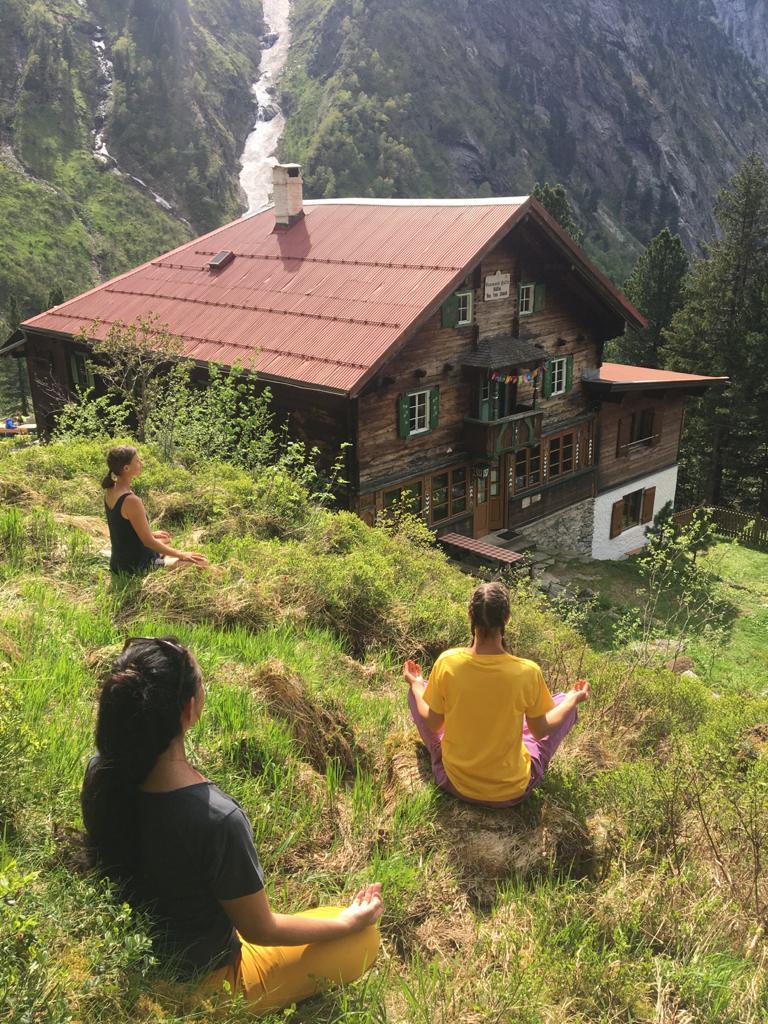 Yogatreat Grawandhütte